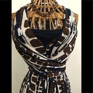 Donna Morgan halter dress